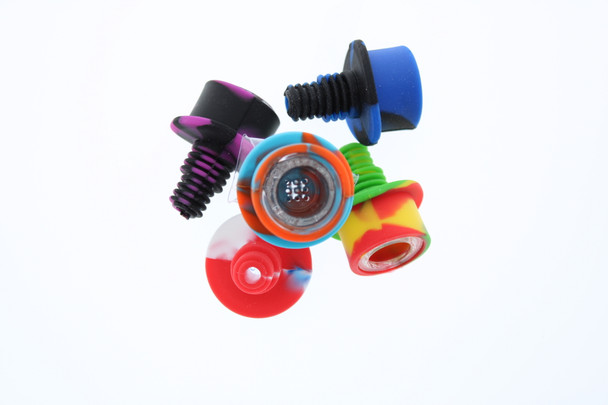 14-18mm UNIVERSAL Joint Hat bowl (Silicone+Glass)-04
