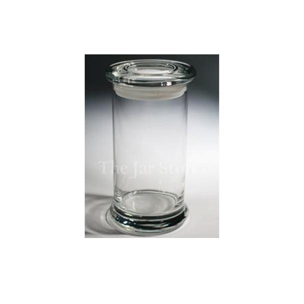 20oz. ELITE, Jar w/Flat Glass Lid