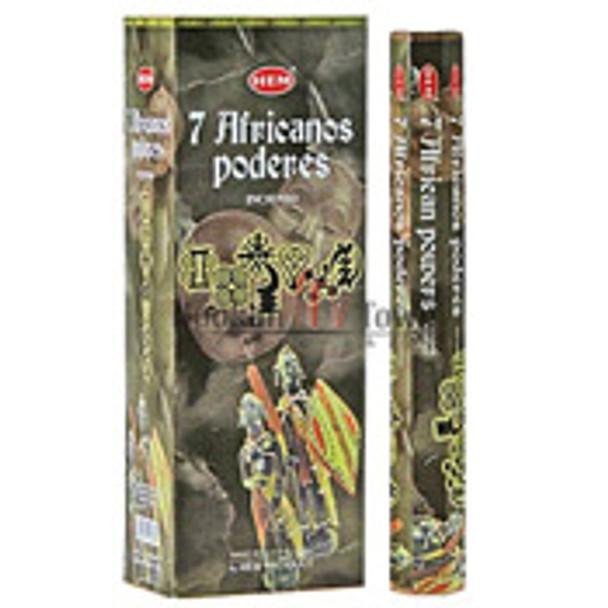 Hem Incense: 7 African Powers: 20 Sticks