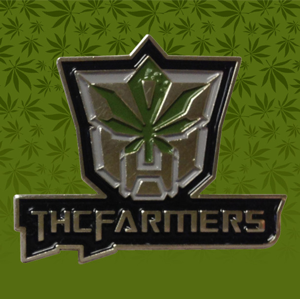 THC Farmers Hat Pin