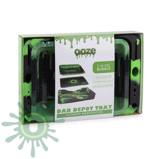 Ooze Dab Depot Tray 3-in-1 Bundle