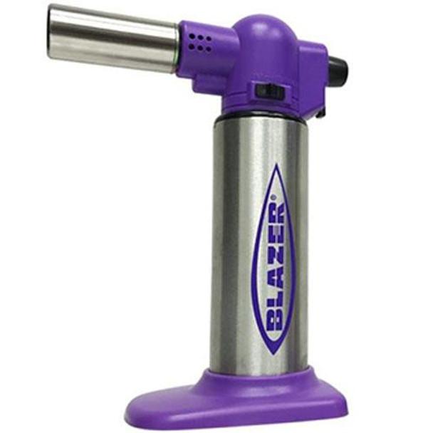 Blazer Big Buddy Turbo Torch Purple & Stainless Steel
