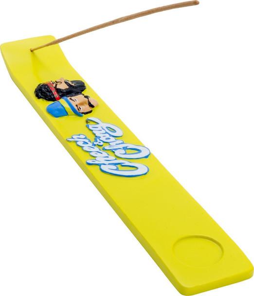CHEECH AND CHONG Yellow Incense Ashcatcher