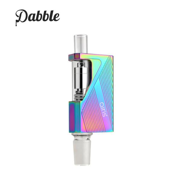 Airis Dabble 2-in-1 Portable E-nail and Wax Vape Pen Device (Rainbow)
