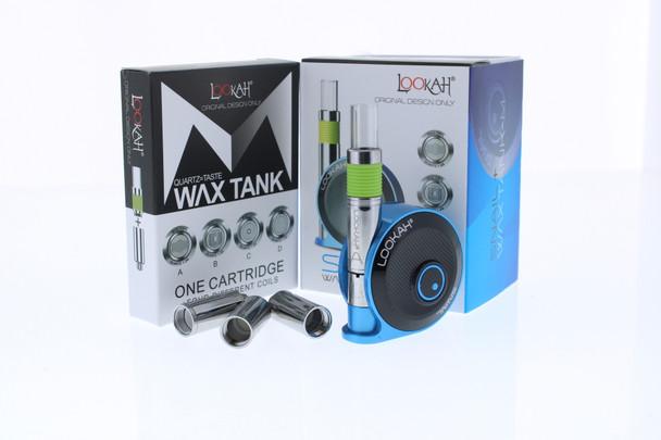 Lookah Snail Wax Concentrates Vape Kit - Blue