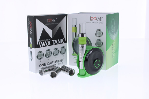 Lookah Snail Wax Concentrates Vape Kit - Green