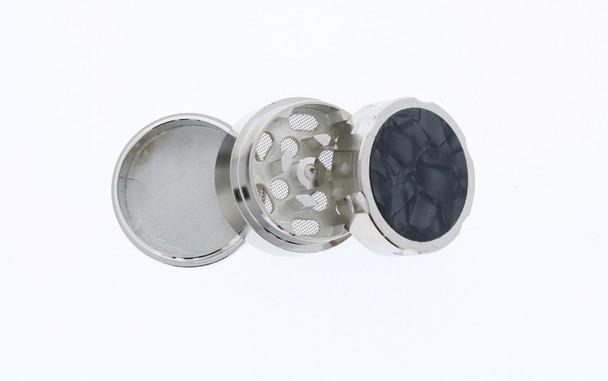 31mm Marble 3 Level Travel Grinder Black
