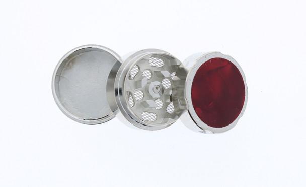 31mm Marble 3 Level Travel Grinder Red