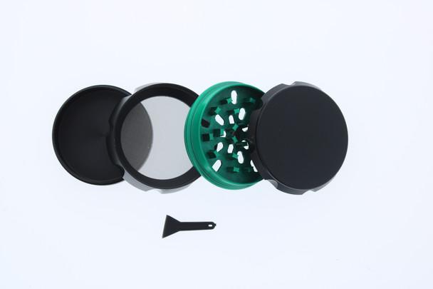 23mm 4 Level Green & Black Large Grinder