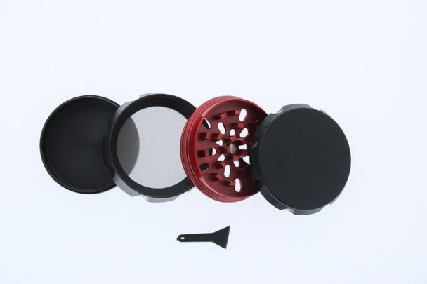 23mm 4 Level Red & Black Large Grinder