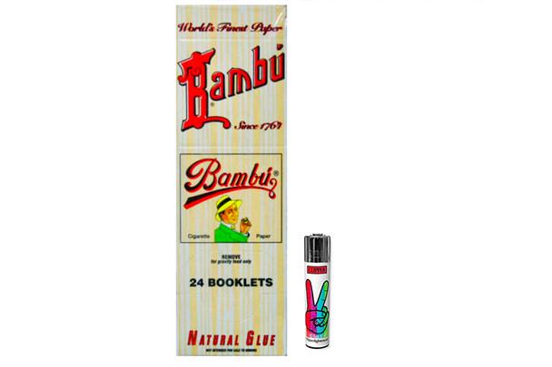 Bambu Classic Rolling Papers Original 24 Pack
