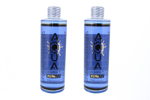 Aqua Glass Works Cleaning Solution 16oz without Salt 2 Pack