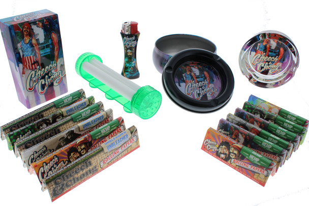 Cheech & Chong Rolling Papers with Accessories Holiday Gift Kit - Truckin
