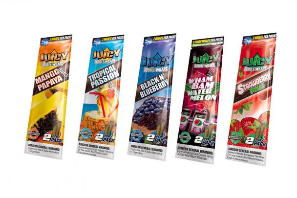 Juicy Jays Flavored Wraps Variety Packs - 5 Pack