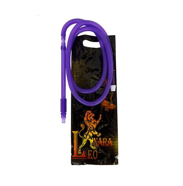 Leo-Nara Washable Silicone Hookah Hose Purple