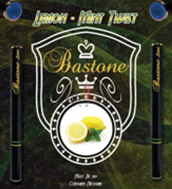Rechargeable Hookah Pen Refill Bastone: Lemon Mint Twist Nicotine-Free