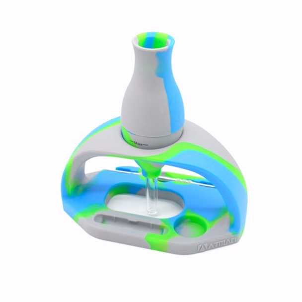 ATMAN WG22 Silicone Nectar Collector - Blue, Green, & Gray