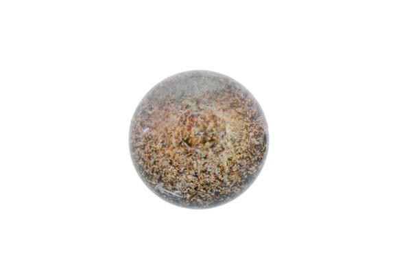 23mm Golden Rainbow Spiral Marble Slurper Cap