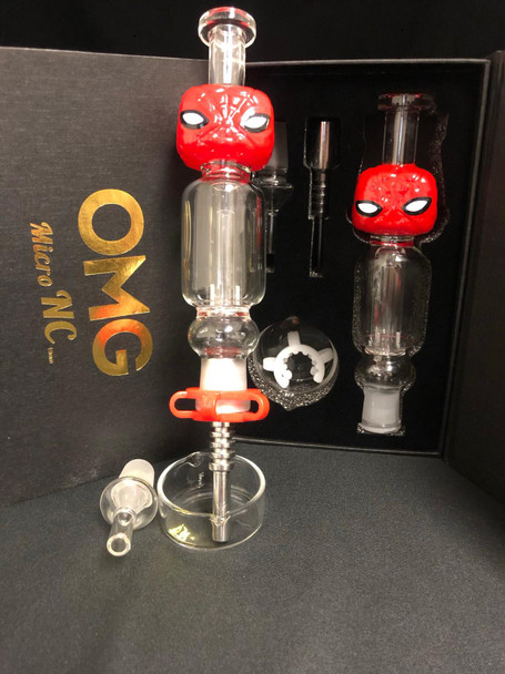 OMG Micro Nectar Collector 14mm Cartoon Character - Red