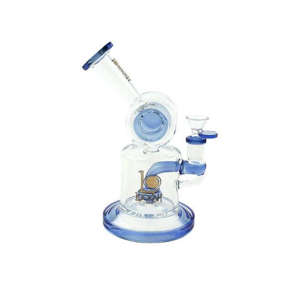 7.8 Inch DJ Water Pipe Lookah Glass Blue