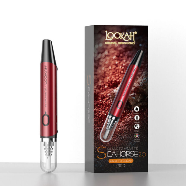 Lookah Seahorse Wax Dab Pen 2.0 Red
