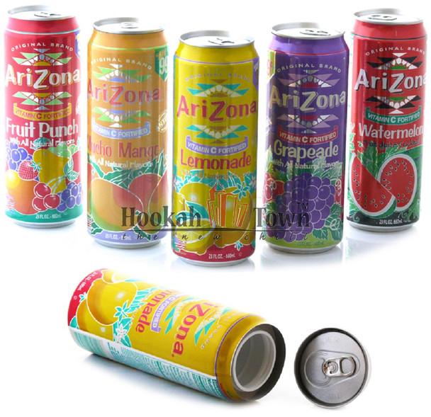 Arizona Tea Stash Cans
