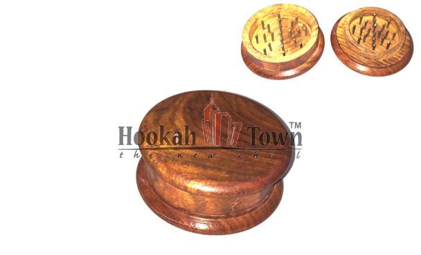 Wooden Tobacco Grinder Large