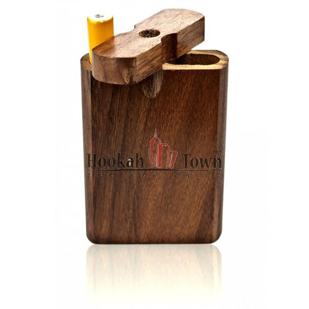 Metal Cigarette One Hitter w/ Storage Case