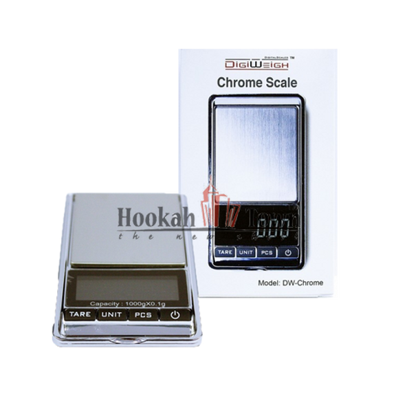 DIGIWEIGH CHROME SCALE 100 X 0.1G