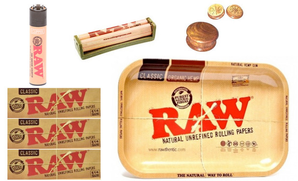Raw Smokers Lounge Intro Kit