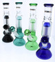 12 inch Bong with Tree Perc - Teal
