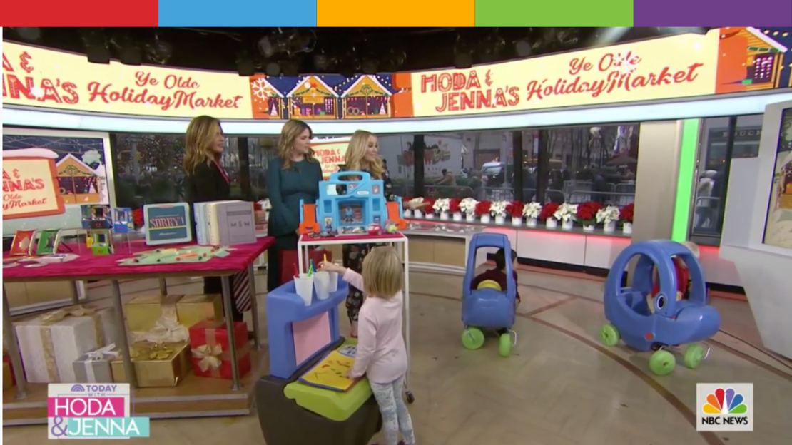 Hoda & Jenna Get a visit from Simplay3