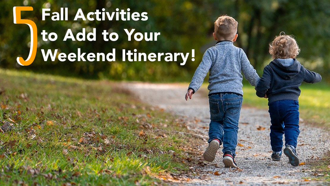 5 Fall Activities to Add to Your Weekend Itinerary