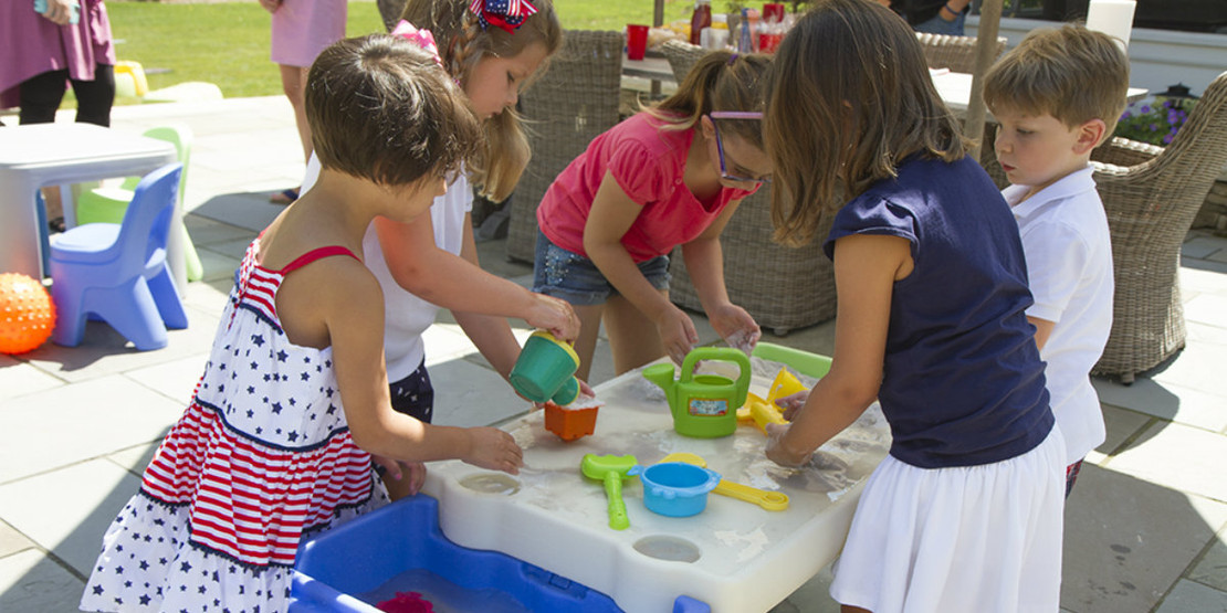 Get Outside: Activities for Your Water Table
