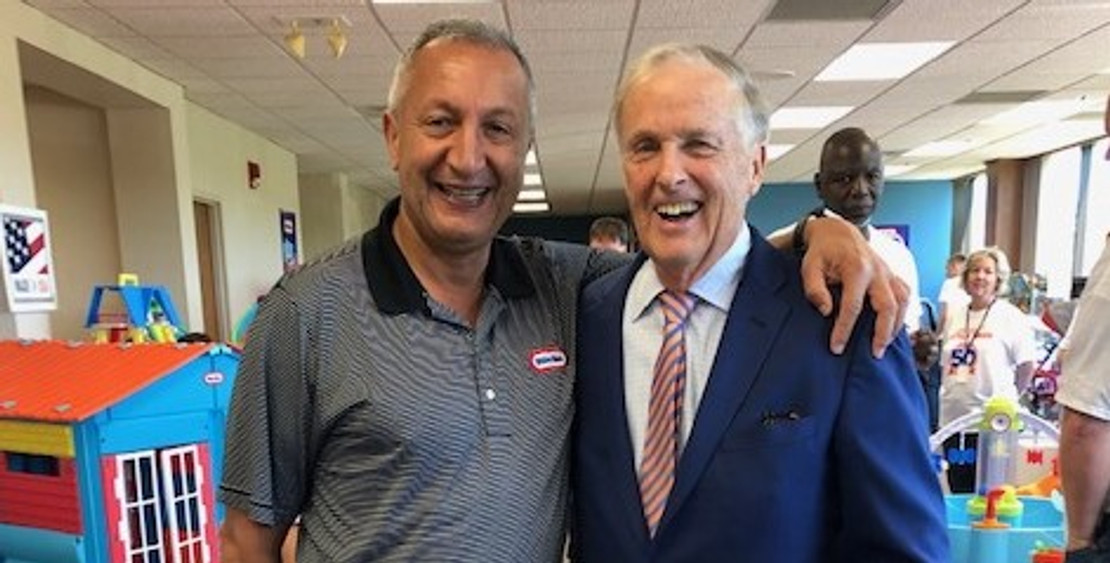 Founder Tom Murdough Attends 50 Year Reunion of Little Tikes and Associates with Special Presentation and Announcement from Owner/CEO Isaac Larian