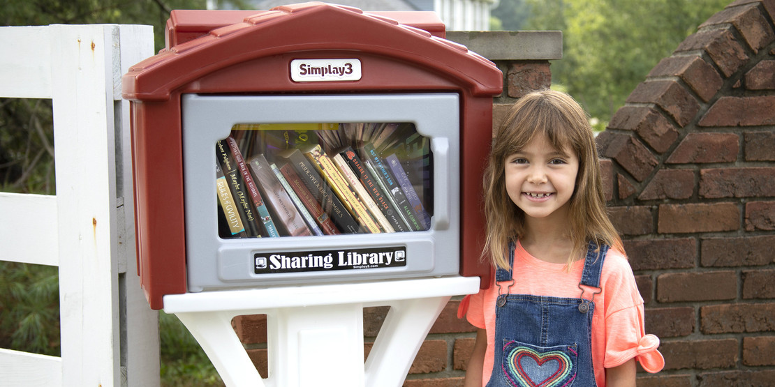 Little Library Has Big Impact on Second Grade Hudson Student