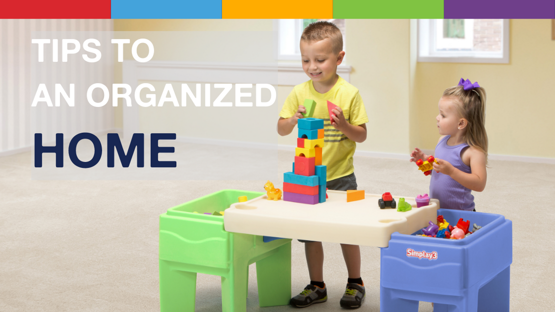 5 Tips to an Organized Home