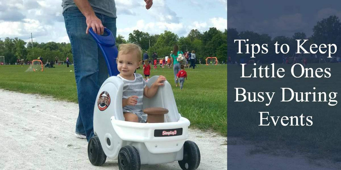 Tips to Keep Little Ones Busy During Events