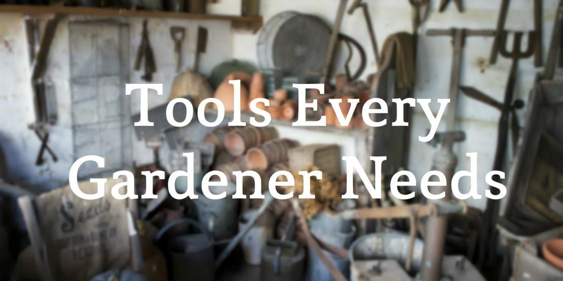 Garden Tools Every Beginner Needs