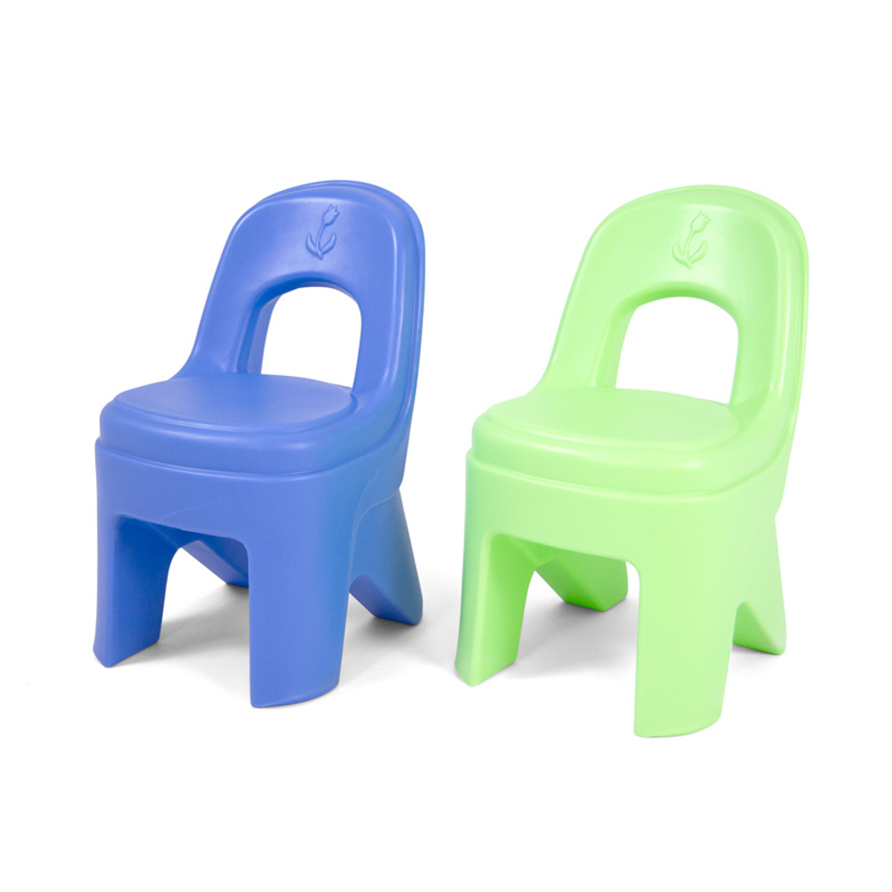 Awe Inspiring Play Around Chairs Periwinkle Lime 2 Pack Gmtry Best Dining Table And Chair Ideas Images Gmtryco