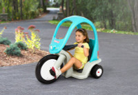 Simplay3 Super Coupe Pedal Trike for children ages two and half years old and up is safe and easy to pedal.