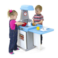 Simplay3 Play Around Kitchen and Activity Center for boys and girls.