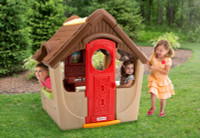 Simplay3 Garden View Cottage A-frame playhouse for kids.