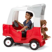 Simplay3 My Buddy & Me SUV with boy and teddy bear.
