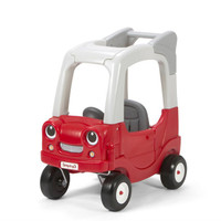 Simplay3 My Buddy & Me SUV with push handle, easy open driver side door, and go-with-the-flow front caster wheels.