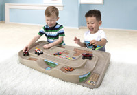 Simplay3 Carry & Go Track Table portable racetrack table for kids.