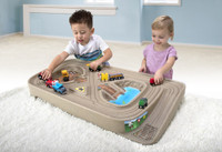 Simplay3 Carry & Go Track Table portable train table for kids.