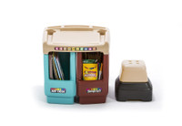 Simplay3 Create & Store Art Desk can be configured as a small art desk.