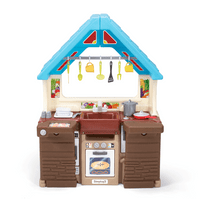 Simplay3 Garden View Kitchen has endless possibilities for imaginative play.