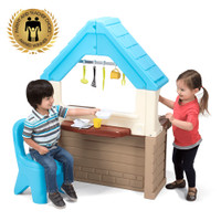 Simplay3 Garden View Kitchen is perfect for imaginative play.